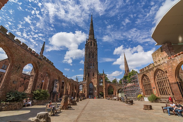 coventry city england cathedral